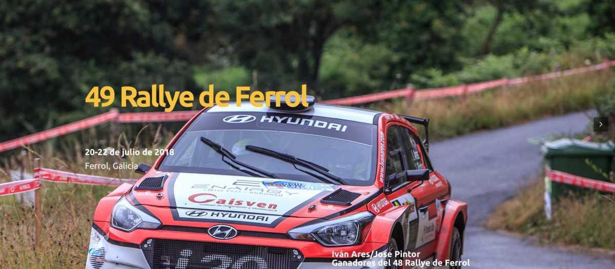 Disponibles tramos, accesos y mapas del 49 Rallye de Ferrol