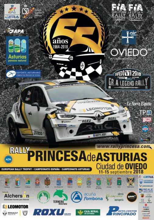 Mapas, accesos y emplazamiento del 55 Rallye Princesa de Asturias
