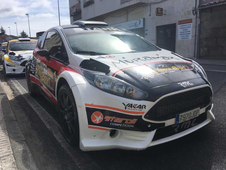 Rallye Ribeira Sacra: Víctor Senra muy cerca de ser Bicampeón