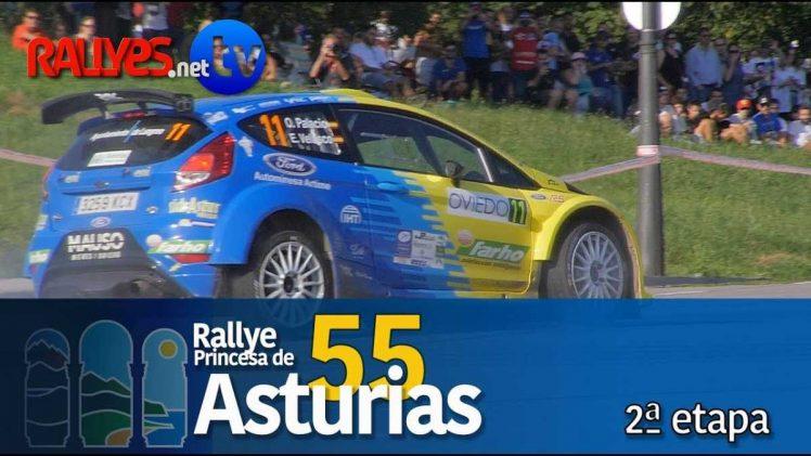 55 Rallye Princesa de Asturias – Segunda etapa