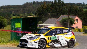 Iago Caamaño, Ford Fiesta R5, Rallye de Narón