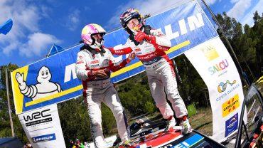SEBASTIAN LOEB (Citroân C3 WRC)-Victoria en el Rally de Espa§a