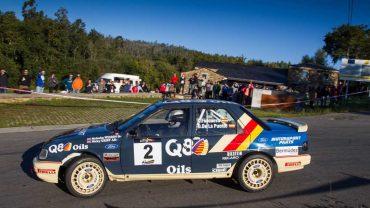 Cele Foncueva, Rallye Rías Altas Histórico, Ford Sierra