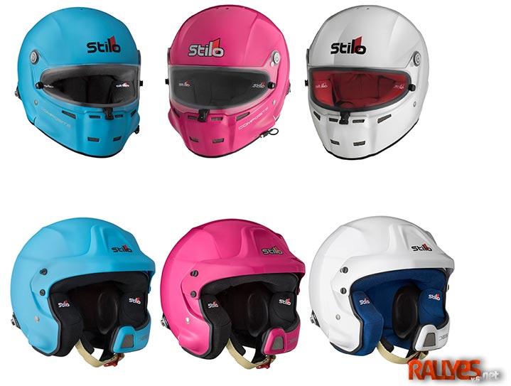 A los cascos Stilo les salen los colores