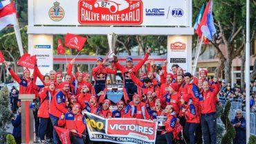 Citroân Total WRT- Celebra victoria Rally de Montecarlo (4)