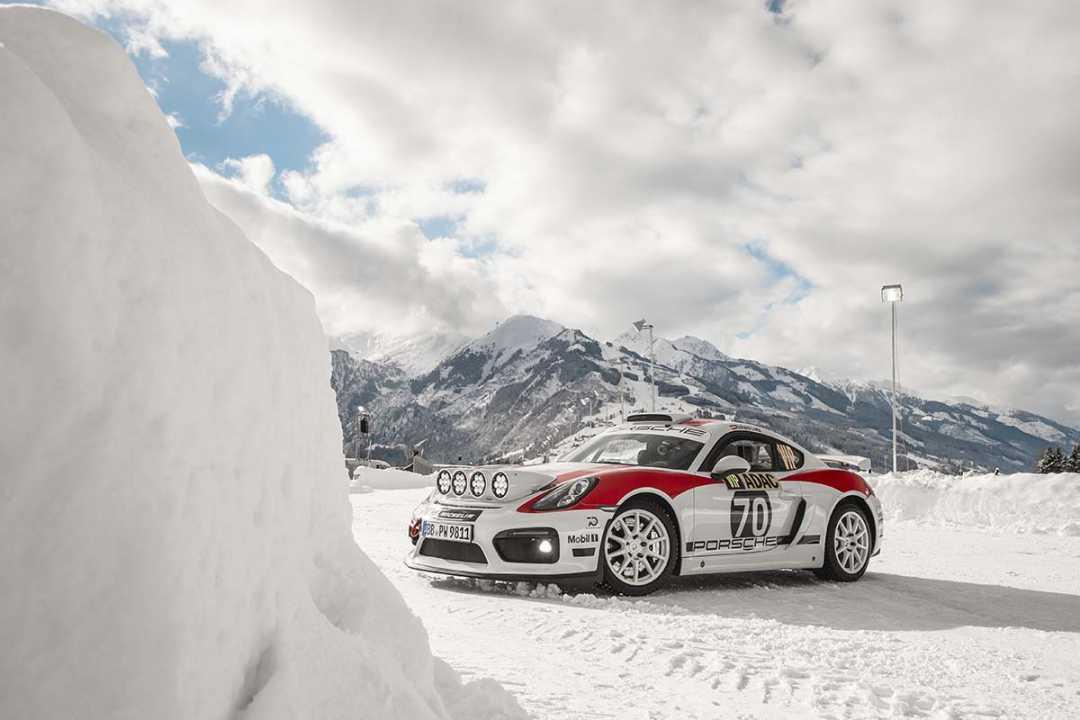 Porsche Cayman GT4 Rallye, basado en el 718 Cayman GT4 Clubsport