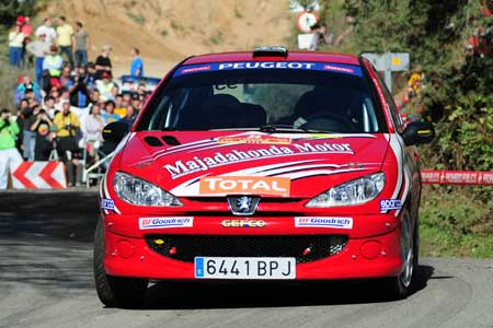 Alberto Monarri presente en el Rally Serras de Fafe