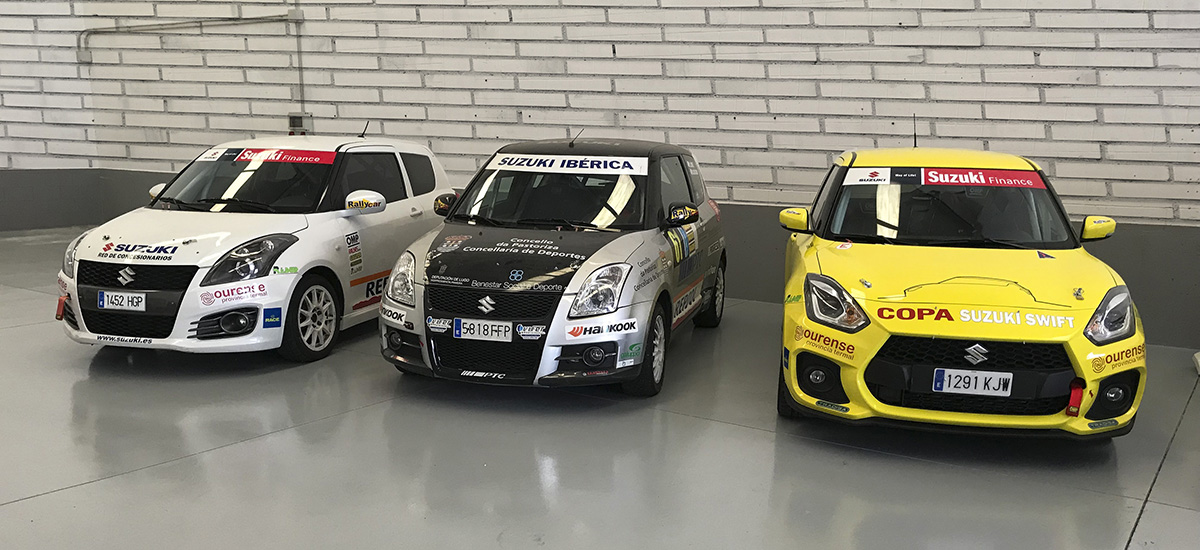 Copa Suzuki Swift 2019 : Pleno total y el calendario casi decidido