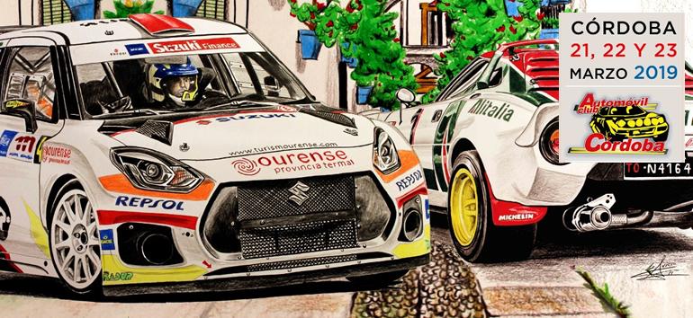 Lista de inscritos e itinerario del Rallye Sierra Morena 2019