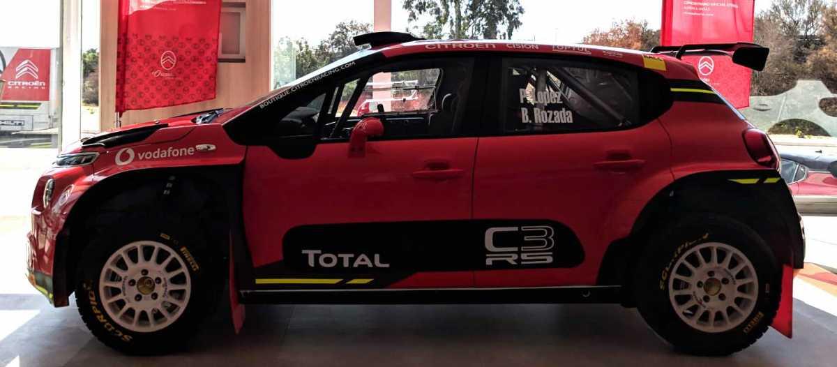Citroën España vuelve a los rallyes con Pepe López y Borja Rozada