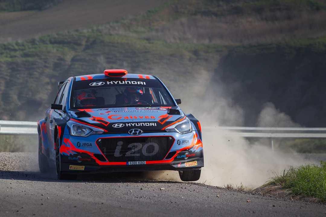 Doblete para Hyundai en el Rallye Sierra Morena