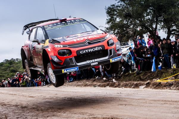 Dani Sordo y Sébastien Ogier, contentos con el Rallye de Argentina