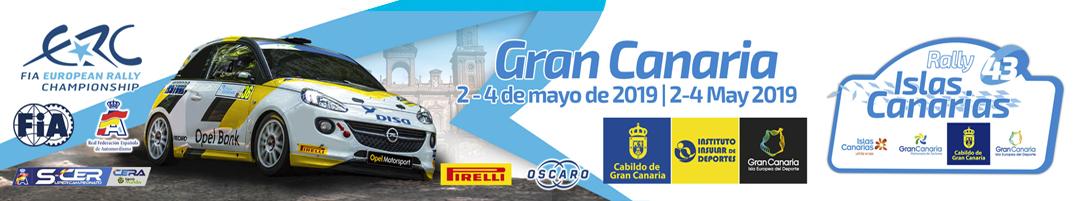 Lista de inscritos e itinerario del Rallye Islas Canarias 2019