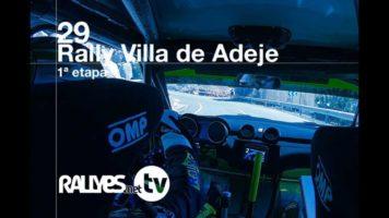 29 Rallye Villa de Adeje (primera etapa)