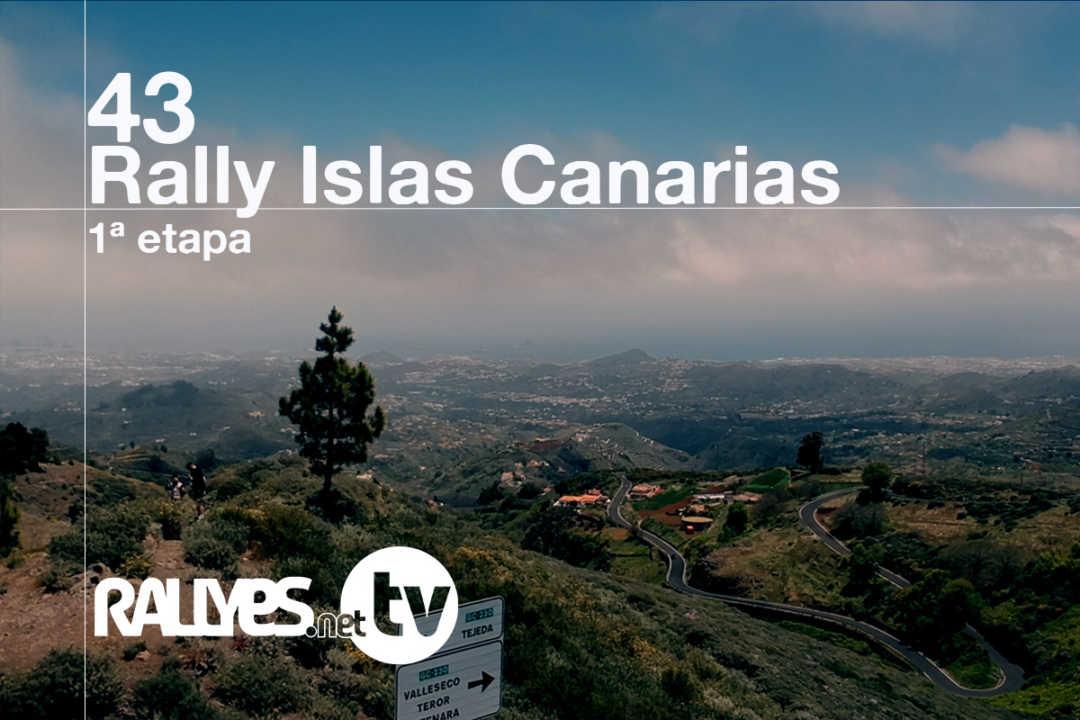 43 Rally Islas Canarias (primera etapa)