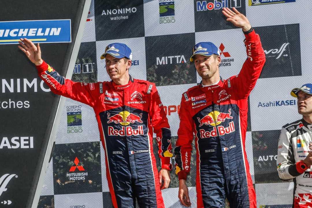 Sébastien Ogier: «Hemos vuelto a sacar el mejor partido del C3 WRC»