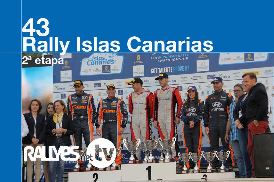43 Rally Islas Canarias (segunda etapa)