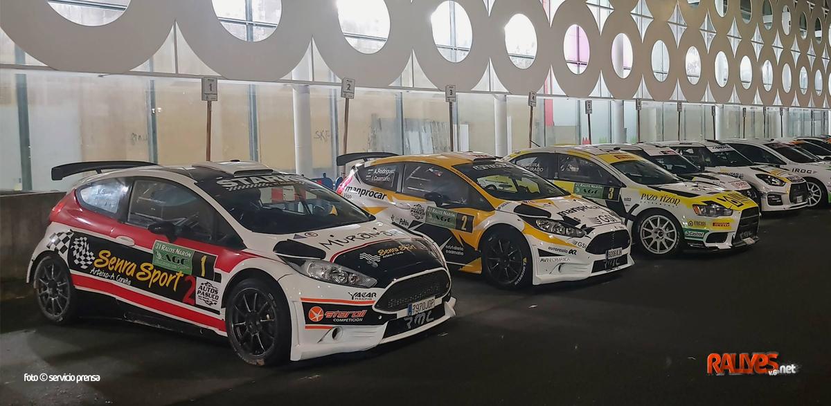 Rallye de Narón: la afición «haciendo números» y los pilotos lo han tenido claro