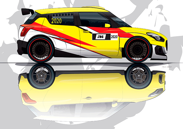 Suzuki Motorsport da el salto a la categoría R4 en 2020