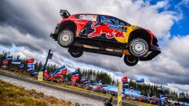 Sebastien Ogier (Citroën C3 WRC)- 5º en Rally de Finlandia