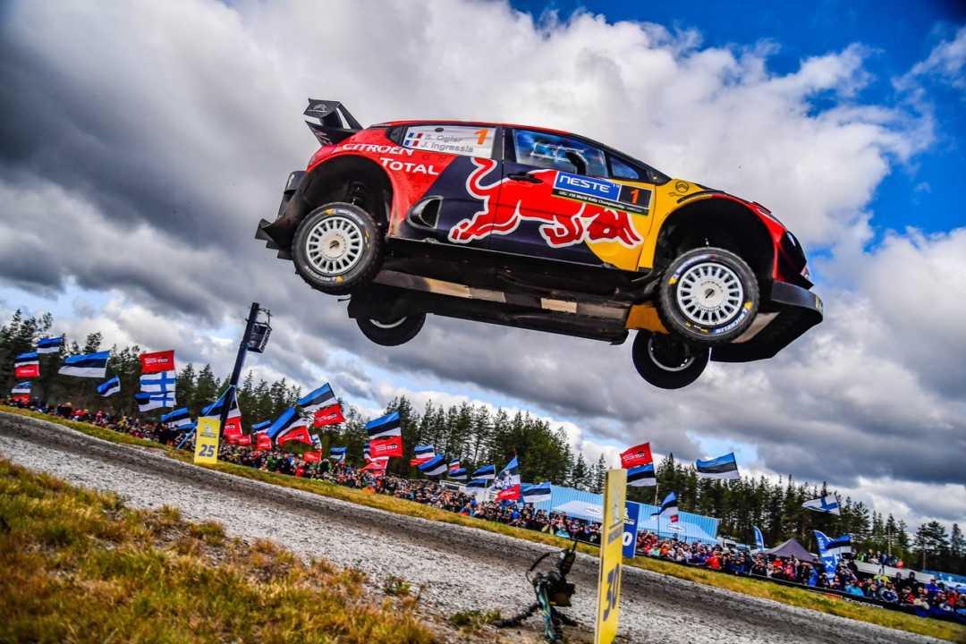 Pierre Dubar contento con la actuación de Citroën en Finlandia