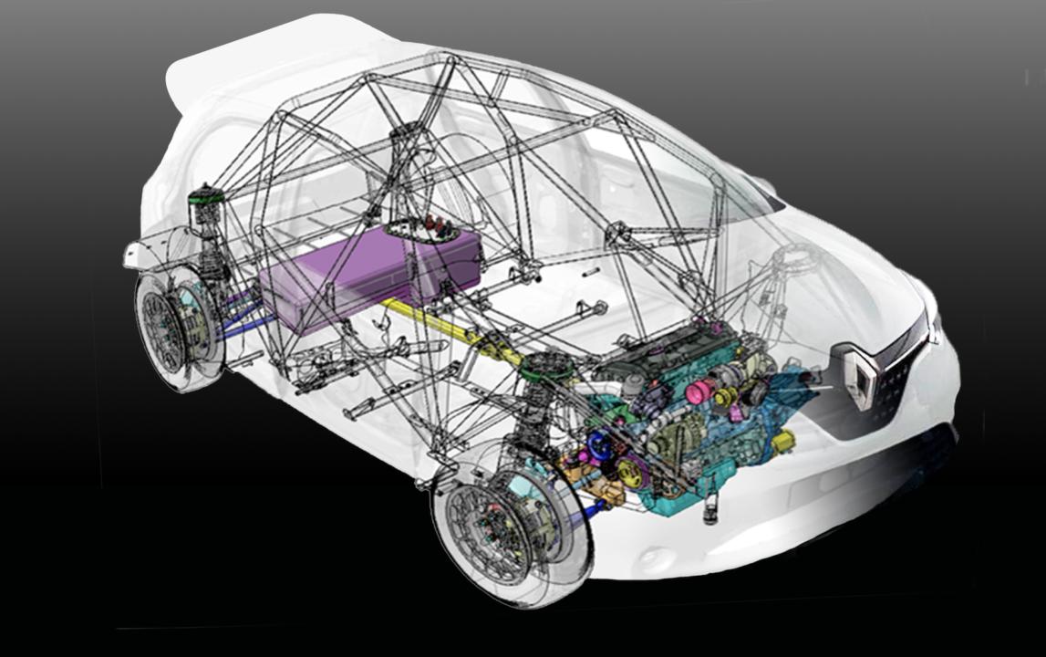 Se desarrollará un R4 de rallyes en MSI con la base de un Renault Clio