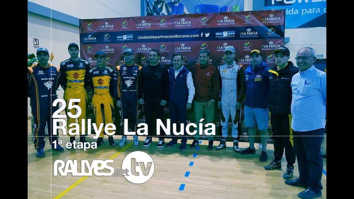 25 Rallye La Nucía  (primera etapa)