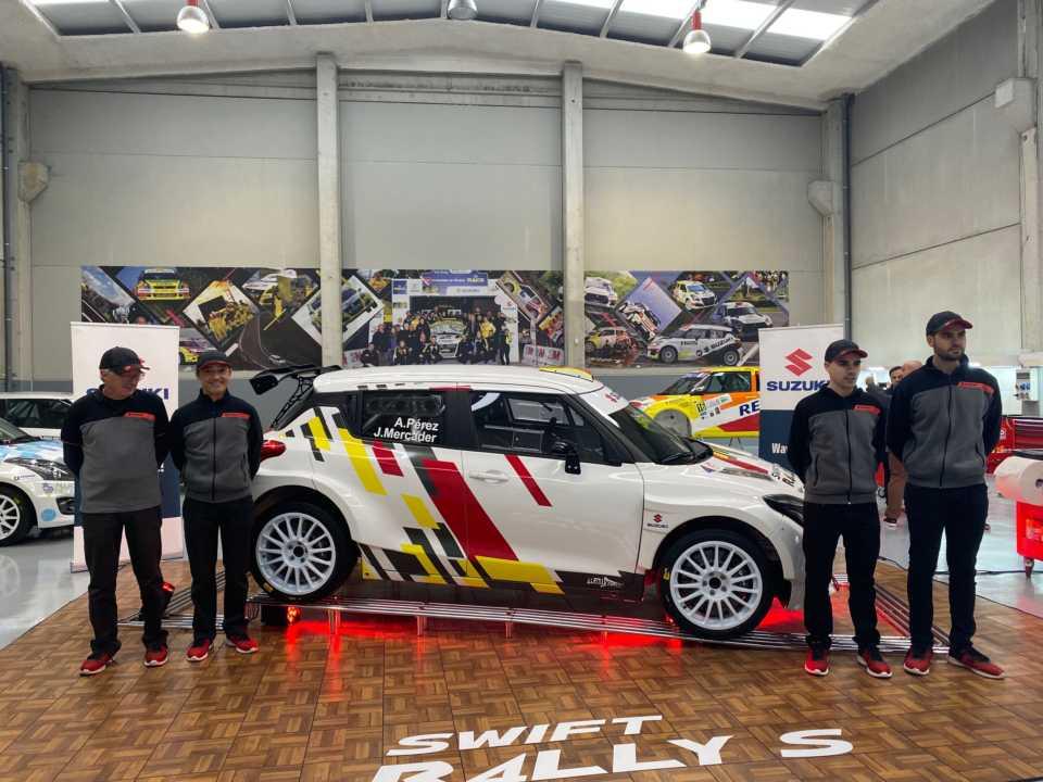 El equipo Suzuki presente en el Rallye de Portugal WRC