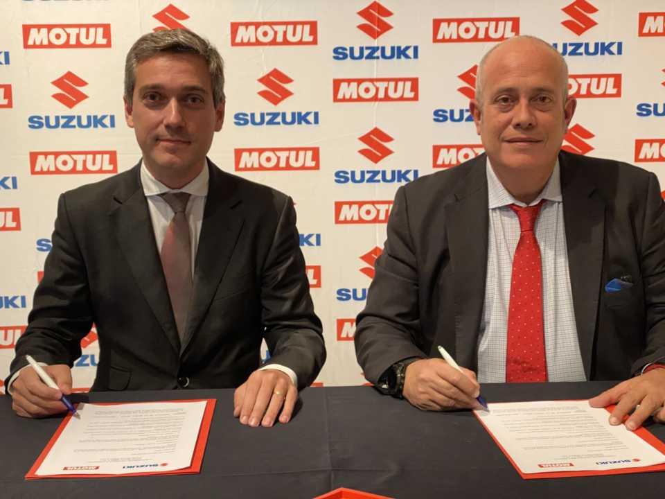 Suzuki Ibérica y Motul, juntos en la temporada 2020
