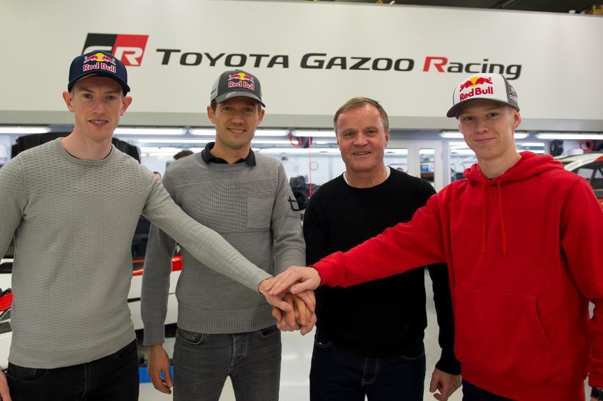 Sébastien Ogier: «Rovamperä ya ha demostrado muchas cosas en los rallys, tiene talento»