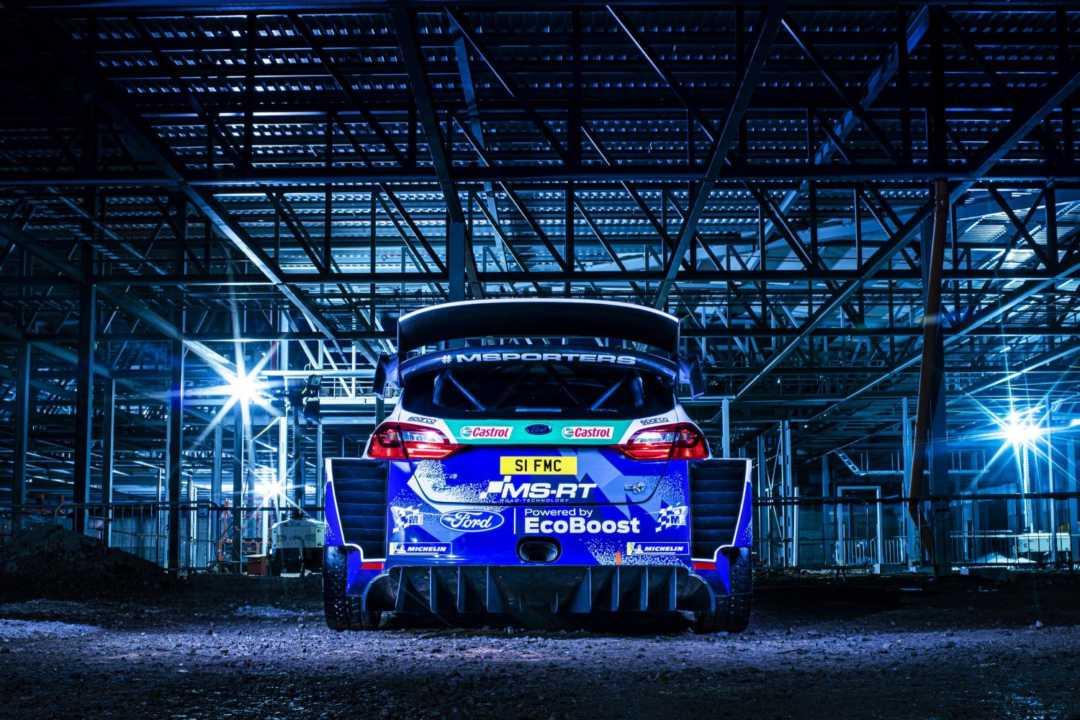Así es el nuevo Ford Fiesta WRC 2020 diseñado por Phil Dixon