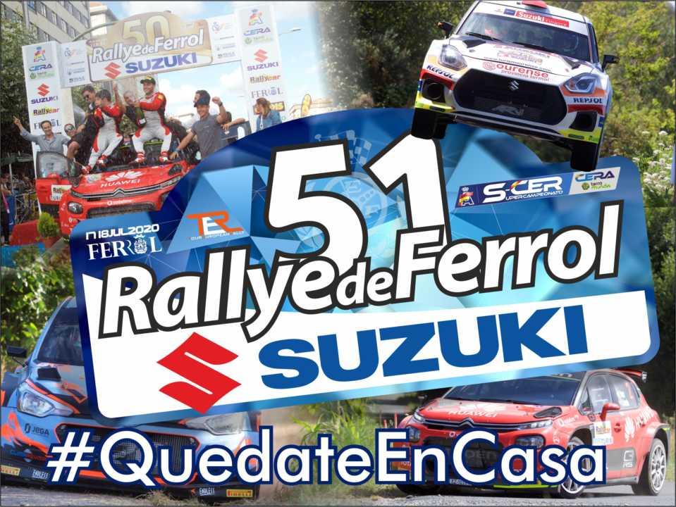 El Rallye de Ferrol, según lo previsto