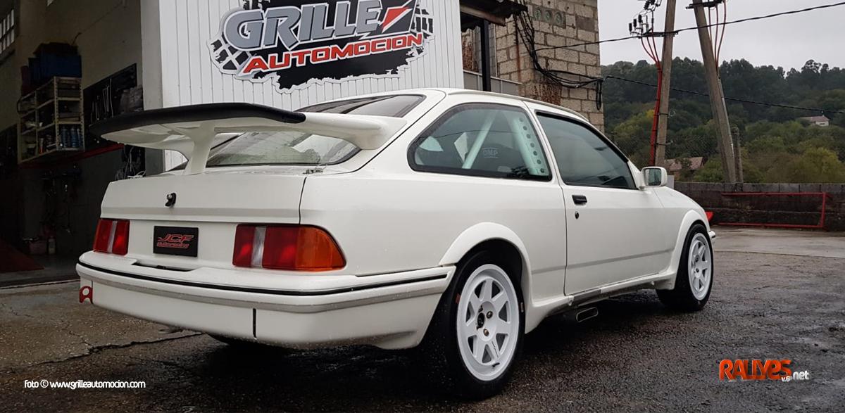 Javier R. Grille y un Ford Sierra, ¡que seguro dará que hablar!