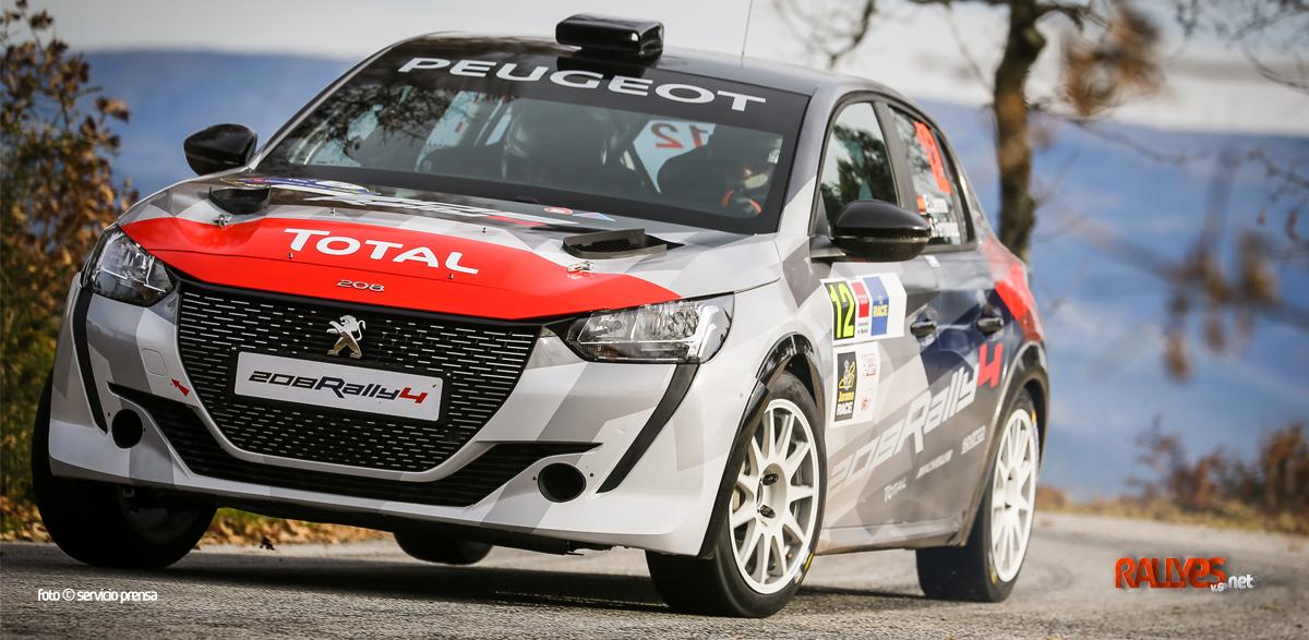 Al habla con Peugeot Sport y «la construcción de los 208 Rally4 sigue»