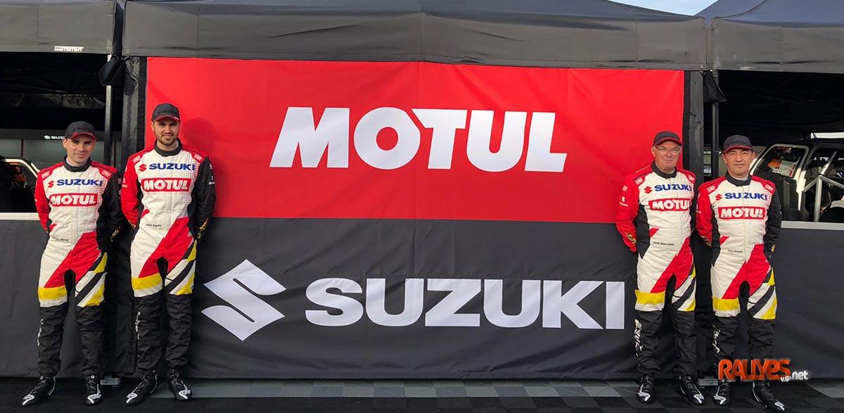 Vídeo: El equipo Suzuki, optimista y con ganas de volver a las carreras
