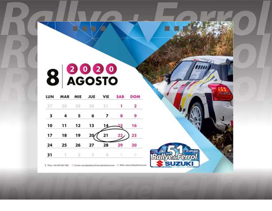 El 51 Rallye de Ferrol confirma su celebración en agosto