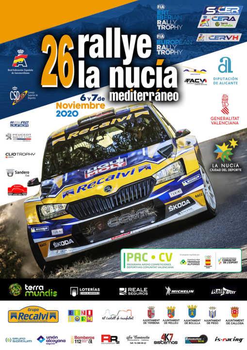 El Rallye de la Nucía, con asistencia de público controlada