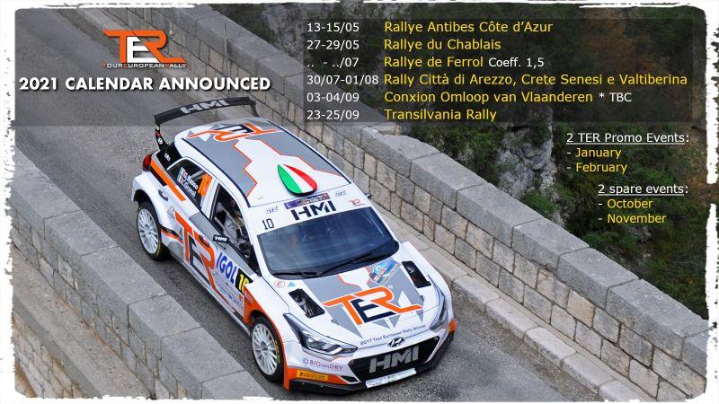El Rallye de Ferrol con máximo coeficiente para el TER 2021