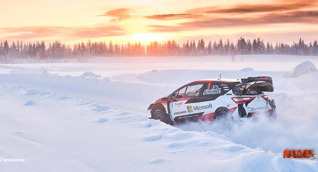 El Artic Rally Finland en el WRC 2021