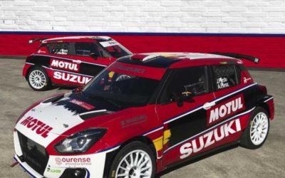 Suzuki Swift R4lly S: Amanecer Rojo