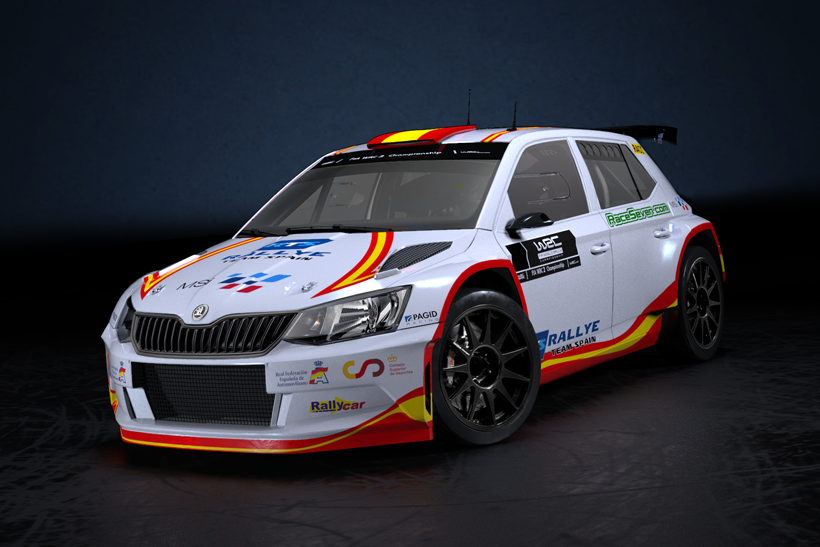 Pepe López en el WRC3