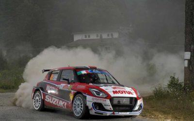 ERC2. Doblete para el Equipo Suzuki en el Rally di Roma Capitale