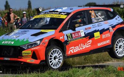 El nuevo Hyundai i20 Rally2 llega a la Península